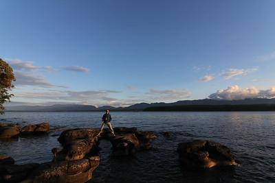John on Hornby Island