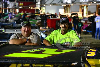 Billy Moyer Crew Members - Timmy Lucas and Steve Norris