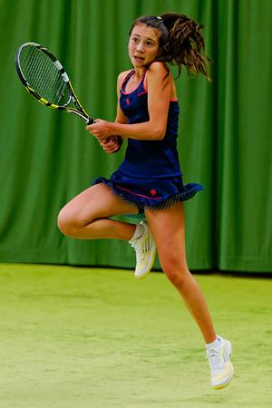 114. Lucie Wargnier - ITF Heiveld junior indoor open 2013_14