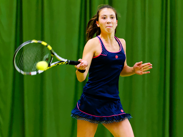 108. Lucie Wargnier - ITF Heiveld junior indoor open 2013_08