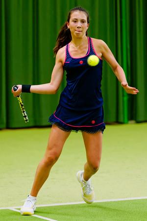 109. Lucie Wargnier - ITF Heiveld junior indoor open 2013_09