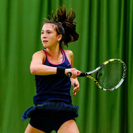 110. Lucie Wargnier - ITF Heiveld junior indoor open 2013_10