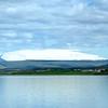 Eiríksjökull, seen from Borgarnes