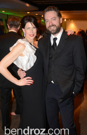 Melissa Fitzgerald, Brent Roske, Chasing the Hill,  The Inaugural Green Ball on Sunday, January 20th , 2013. Newseum.