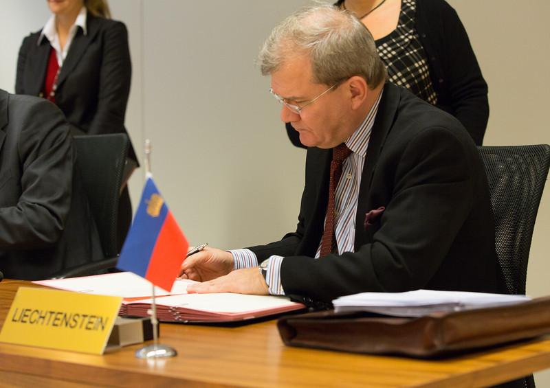 Ambassador Kurt Jäger, Mission of Liechtenstein to the EU.