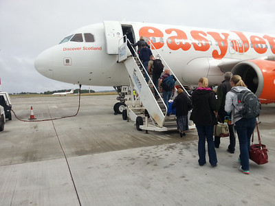 Airbus A.319 G-EZIY EasyJet - our ride home to Luton