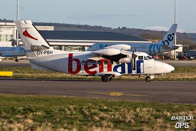 Let 410 OY-PBHLet 410 OY-PBH of Benair A/S.