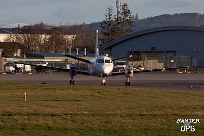 Saab SF.340 G-GNTF of Loganair.