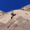 Grumpy climber sieging Dos Chi Chi