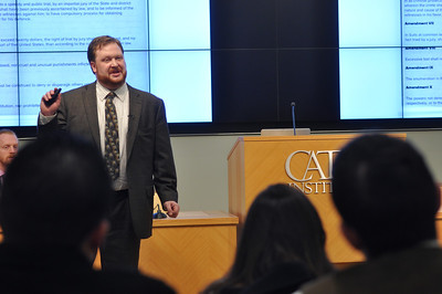 Trevor Burrus, Research Fellow, Cato Institute