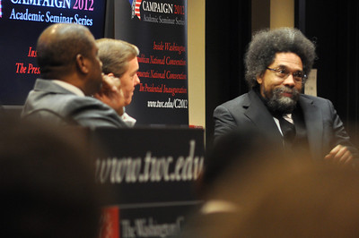 Tavis Smiley & Dr. Cornel West discuss with Steve Scully
