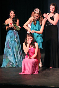Sunday, January 27, 2013 Katie Smith was crowned Miss Gardner-Webb by the reigning 2012 Miss Gardner-Webb, Sara Jolley