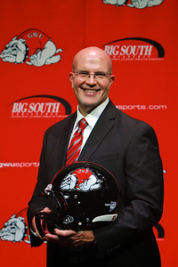 Carroll McCray named new GWU Head Football Coach; Press Conference, January 2013.