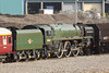 9 January 2013 :: BR Class 8P 4-6-2 no 71000 Duke of Gloucester in Eastleigh works
