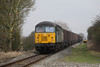 11 January 2013 :: 56303 at Islip with 6Z91 Calvert to Didcot Power Station empty flyash wagons