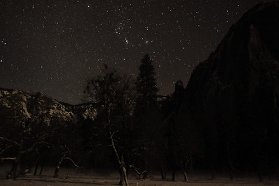 Orion watching over Yosemite Valley.