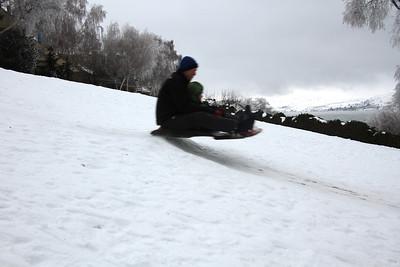 Xtreme sledding