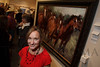 Jill Soukup (featured artist).  The 2013 Coors Western Art Exhibit and Sale Red Carpet Reception at the National Western Stock Show Complex in Denver, Colorado, on Tuesday, Jan. 8, 2013.<br /> Photo Steve Peterson