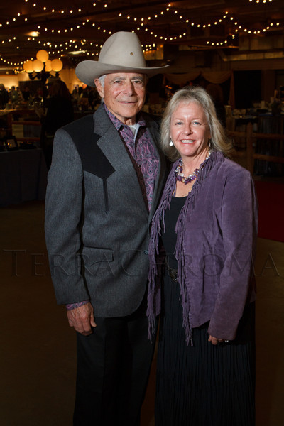 Emil and Kristen Squazzo.  The 2013 Coors Western Art Exhibit and Sale Red Carpet Reception at the National Western Stock Show Complex in Denver, Colorado, on Tuesday, Jan. 8, 2013.<br /> Photo Steve Peterson
