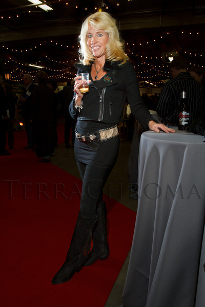 Kathy May.  The 2013 Coors Western Art Exhibit and Sale Red Carpet Reception at the National Western Stock Show Complex in Denver, Colorado, on Tuesday, Jan. 8, 2013.<br /> Photo Steve Peterson