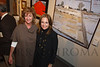 Dinah K. Worman (Best of Show winner) and Kathy Coors (Best of Show sponsor).  The 2013 Coors Western Art Exhibit and Sale Red Carpet Reception at the National Western Stock Show Complex in Denver, Colorado, on Tuesday, Jan. 8, 2013.<br /> Photo Steve Peterson