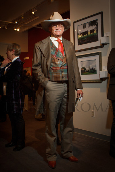 Gary Sohrweid.  The 2013 Coors Western Art Exhibit and Sale Red Carpet Reception at the National Western Stock Show Complex in Denver, Colorado, on Tuesday, Jan. 8, 2013.<br /> Photo Steve Peterson
