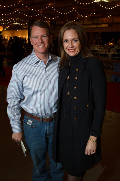 Brad and Kathy Coors.  The 2013 Coors Western Art Exhibit and Sale Red Carpet Reception at the National Western Stock Show Complex in Denver, Colorado, on Tuesday, Jan. 8, 2013.<br /> Photo Steve Peterson