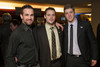 "Colorado Mammoth players:  Ilija Gajic, Dan Coates, and Colt Clark.  ""Mile High Dreams Gala,"" benefiting Kroenke Sports Charities, at the Pepsi Center in Denver, Colorado, on Monday, Jan. 21, 2013.<br /> Photo Steve Peterson"