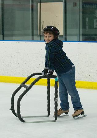 Ice skating/Snow day