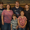 This picture is a little out of focus, sorry!  The family is still so beautiful!