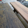 Refinishing picnic table benches
