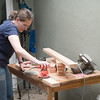 Ariella sanding table legs