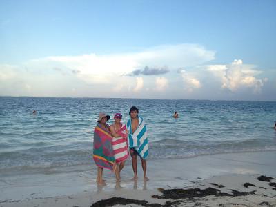Mi mamá de visita en Cancún