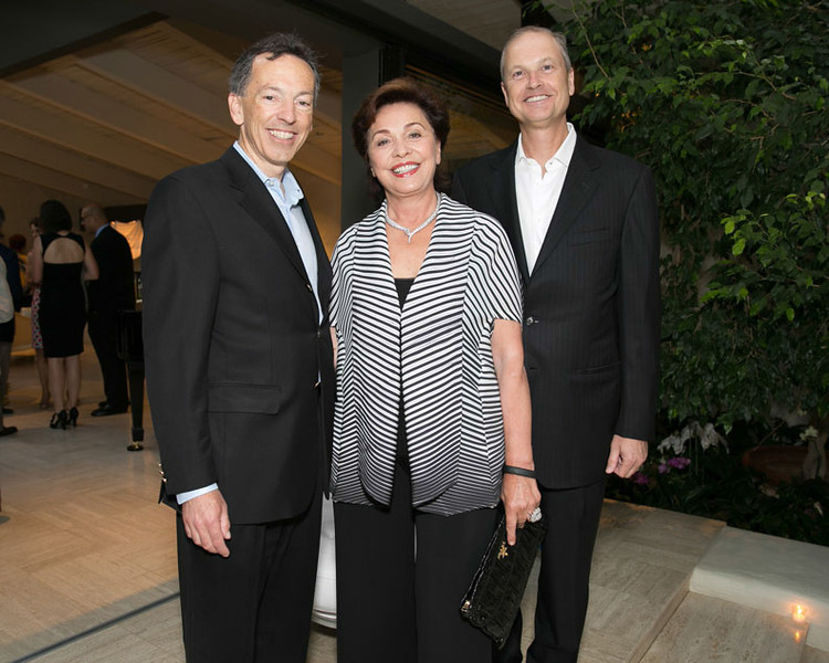 Founders Dinner at Boisset Family Estate at Wappo Hill. Richard Walker, Maria Manetti Shrem and Steven Stull.