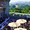 VIP reception at Castello di Amorosa.