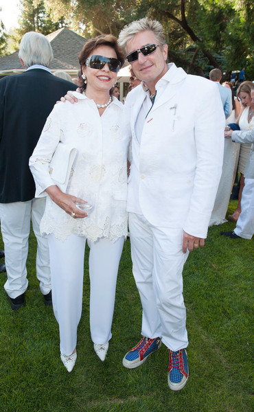 Festival Gala at Meadowood. Maria Manetti Shrem and Jean-Yves Thibaudet.