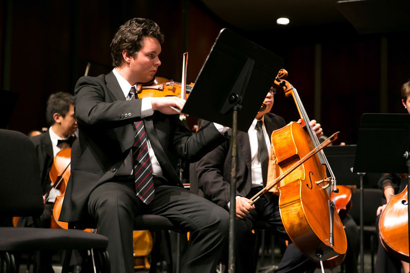 Community Concert at Lincoln Theater, featuring Orchestra Institute Napa Valley, with conductor Martin West and narrator Jeffrey Wright.