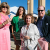 Dinner at Darioush, co-hosted by Bouchaine Vineyards. Sandy Asheim, Lisa Grotts, Anita Wornick, John Grotts.