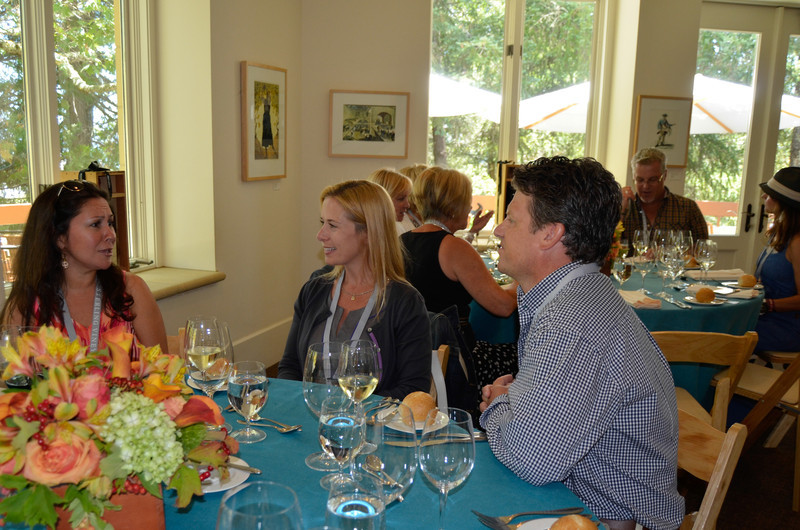 Vintner's Luncheon at Sterling Vineyards.
