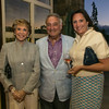 Joan and Sandy Weill with Ana Keller.
