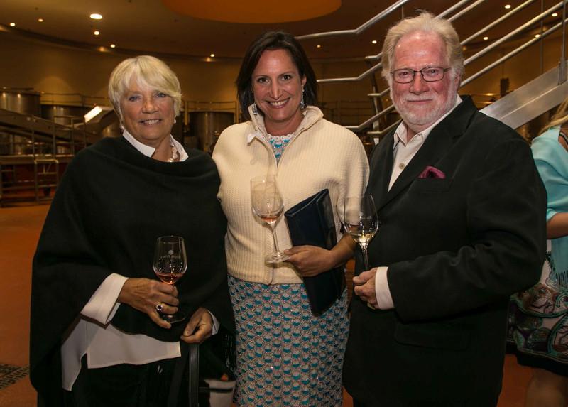 Char Caudill, Ana Keller, Jim Caudill.