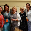 Vintner's Luncheon at Sterling Vineyards. Teri Lee, Lisa Brown, Brenda Tolbert, Claudia Sansone, Jamie Laratta.