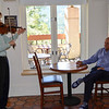 Vintner's Luncheon at Sterling Vineyards. Darioush Khaledi enjoys a private concert.