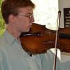 Vintner's Luncheon at Sterling Vineyards. Bouchaine Young Artist Benjamin Penzner on viola.