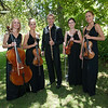 Vintner's Luncheon at Spring Mountain Vineyard. Musicians of the Russian National Orchestra.