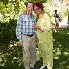 Vintner's Luncheon at Spring Mountain Vineyard. Richard Walker and Tatiana Copeland.