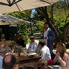 Vintner's Luncheon at Ma(i)sonry. Michael Polenske offers a toast.