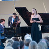 Dinner and Concert at Opus One. Vadym Kholodenko and Erika Baikoff.