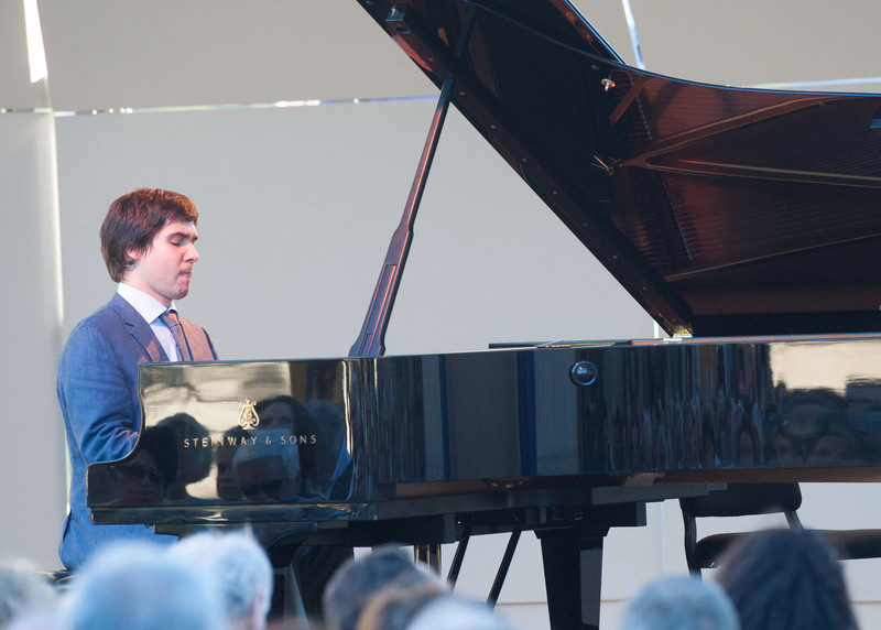 Dinner and Concert at Opus One. Vadym Kholodenko.