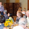Vintner's Luncheon at Silver Oak Cellars. President and CEO David Duncan.
